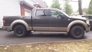 F150 2005 king ranch cuir dvd 4x4