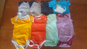 6 month baby shirts and undershirts
