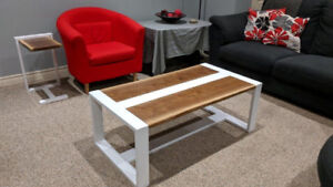 Coffee Table & End Tables Set