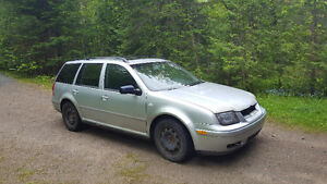 Volks jetta wagon tdi alh part out
