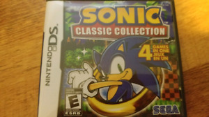 SONIC COLLECTION NINTENDO DS 3DS 2DS