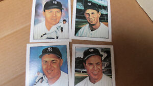 6-1983 50 years of Yankee all stars cards