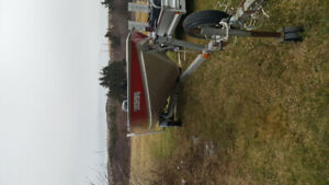 WC 14 LUND BOAT with MOTOR/TRAILOR
