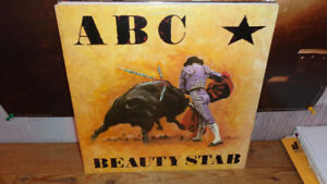 ABC BEAUTY STAB LP NICE COPY NO SYNTH POP HERE JUST POWER ROCK