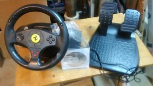 trustmaster steering wheel for ps3