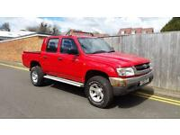 TOYOTA HILUX EX 4WD DOUBLE CAB 2002 ONLY 98,000 MILES FROM NEW