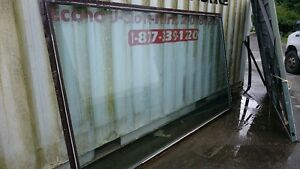 """Picture Window 9'10""""x 64,1/4' RO Aluminum Frame"""