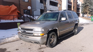 2000 Chevy Tahoe LT, 198xxx kms leather interior