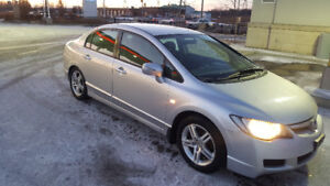 Clean 2006 Acura CSX Sedan With JDM Front End