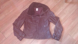 Ladies brown jacket
