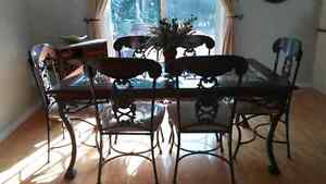 PRICED TO MOVE!! Stunning Dining Room Set