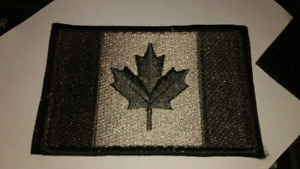 EMBROIDERED VELCRO CANADIAN FLAG PATCH COMES WITH...
