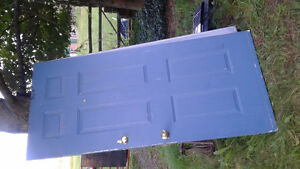 Solid steel insolated  door for sale