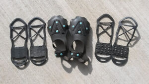 Icers, Anti-skid, non-slip devices for shoes and boots