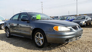 2003 Pontiac Grand Am-AMAZING ON GAS 2.2L 4 CYL--ONLY 118,000KM