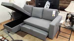 Brand New Grey Sectional Chaise