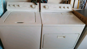 WHIRLPOOL WASHER AND DRYER...REDUCED PRICE...MUST SELL