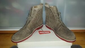 (CLARK'S ORIGINALS) BOOTS SZ 12-TAUPE-(NEW IN BOX) PD $185 ($75)