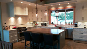 HARDWOOD COUNTERTOP AND KITCHEN RE-FACING BUSINESS
