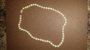 Akoya Cultured Pearl Necklace Cambridge Kitchener Area image 3