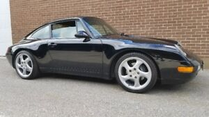1997 Porsche 911 Carrera 993 model coupe TIPTRONIC