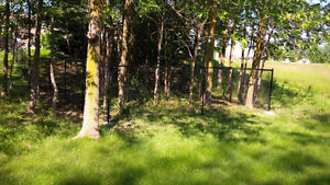 Chain Link Fencing Installed.  Great Service with Great Prices
