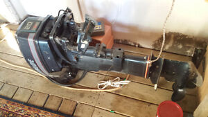20 hp evenrude with electric start