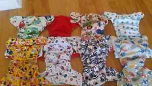 8 Cloth Diapers