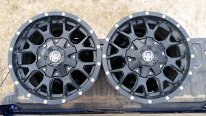 """Ram 1500 Mayhem 17""""x9"""" 5 Stud Aftermarket Rims w/Tire Sensors"""