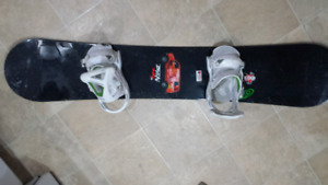 160cm burton bullet board with LG burton custom bindings