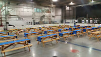 Picnic Tables for All Kinde of Event !  $45 Each / Day