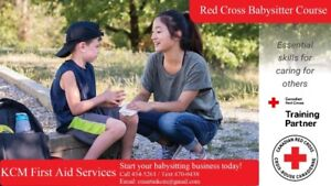 Canadian Red Cross Babysitter Course February 1!