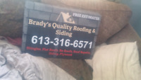 Brady quality roofing and siding  & repairs 24/7 emergencies