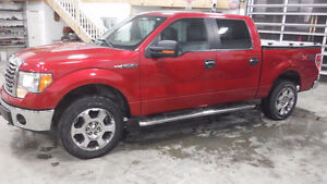 2010 Ford F-150 4x4 SuperCrew XTR Pickup Truck only 129000 km