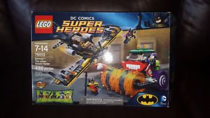 76013 Lego  Batman Joker steam roller
