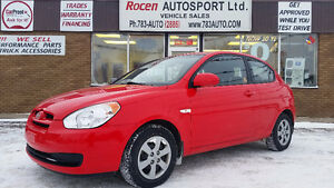 CERTIFIED 2008 HYUNDAI ACCENT - ONLY 42K!!! NEW TIRES - YORKTON