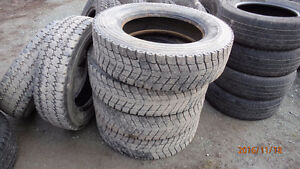 "6 Tires Sized LT225 70 19.5""  Michelin"
