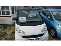 2008 Smart fortwo 1.0 ( 61bhp ) Pure mhd only low miles 50k