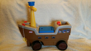 Little Tikes Pirate Ride-On Ship