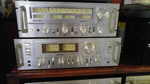 Vintage Rotels  RA1412amp  and RT1024 tuner Peterborough Peterborough Area image 1
