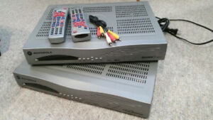 Satellite & 2 HD Receivers - Shaw Direct/Star Choice