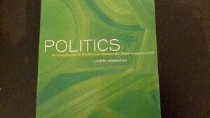Politics an Introduction to the Modern Democratic State 3rd Ed.