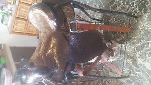 For sale 3 different western saddles Prince George British Columbia image 5
