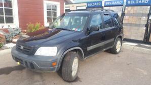 Black 1998 CRV
