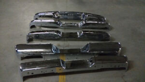 FORD TRUCK BUMPERS - OEM ORIGINALS CUSTOM TRIPLE PLATED