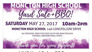 Moncton High School Yard Sale/Barbecue