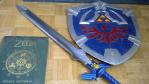 Hyrule Historia with Link's Shield & Sword