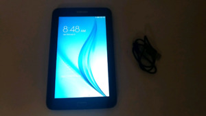 """Samsung Galaxy Tab 7"""" E Lite 8GB Android 4.4 Tablet with Spreadt"""