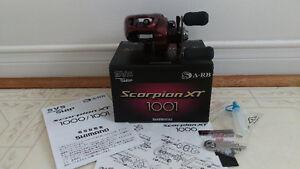 NEW JDM Shimano Scorpion XT1001 Left Baitcast Reel Seaguar