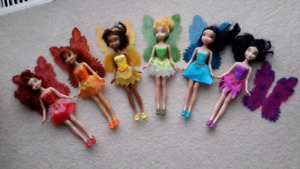 Disney's Tinkerbell doll and Friends